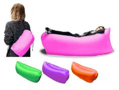 BEMI INVEST Nafukovací sedačka LAZY BAG zelený