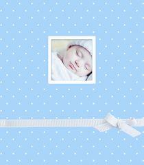 FANDY Fotoalbum na fotorůžky 29x32 cm 60 stran dětské Sunshine 1 modré