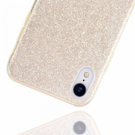 Bling maskica za Xiaomi Mi 9T/Poco M3, silikonska, sa šljokicama, zlatna