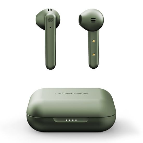Urbanista Stockholm Plus bežične slušalice s postajom za punjenje, maslinasto zelene
