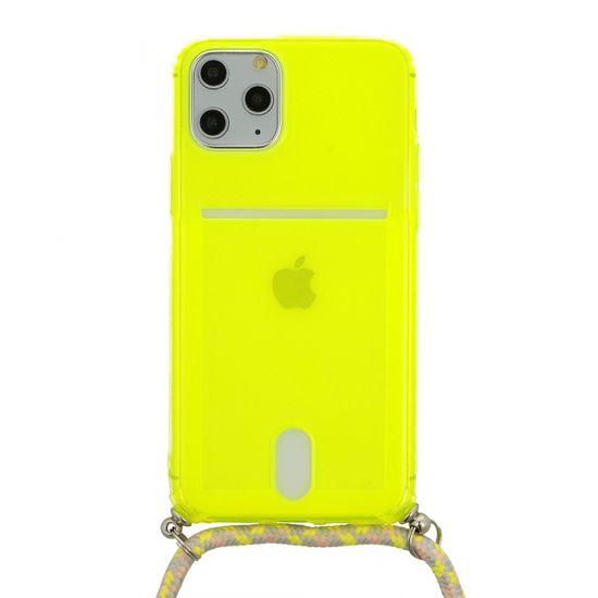 Summer maskica s vezicom za iPhone 7/8/SE 2020, boja limete