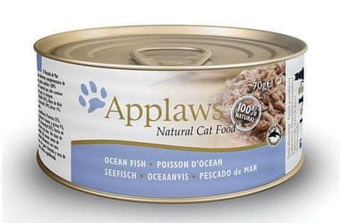 Applaws konzerva za mačke Catfish, 24x70 g