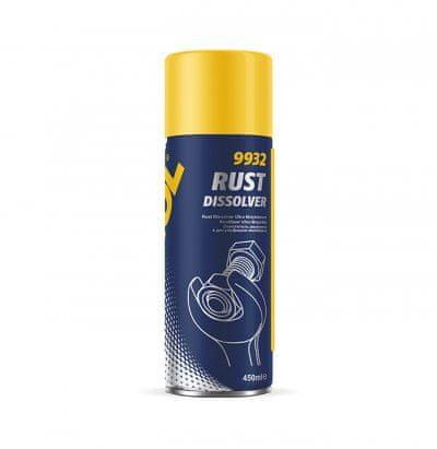 Mannol Rust Dissolver sredstvo za uklanjanje hrđe, 450 ml