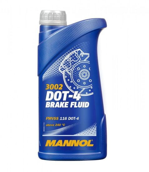 Mannol tekućina za kočnice DOT4, 1 l