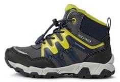 Geox fiú outdoor magasszárú cipő Magnetar J16ACA 0CEFU C1267, 27, sötétszürke