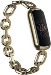 Fitbit Luxe Special Edition Gorjana Juwellery Band - Soft Gold/Peony