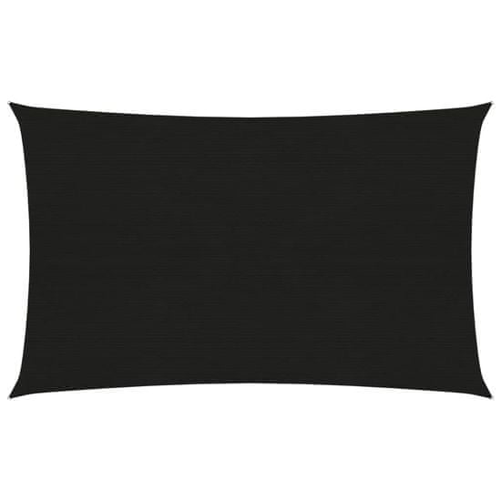 shumee fekete HDPE napvitorla 160 g/m² 2 x 4 m