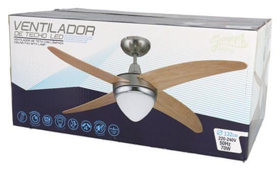 Gerimport stropni ventilator, 70 W, 132 x 48 cm