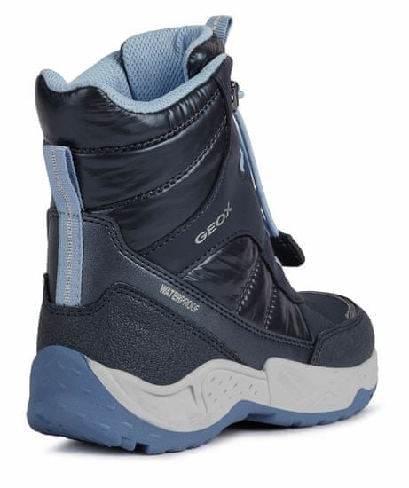 Geox dekliški zimski čevlji Sentiero J04CFA 0BCLV C4231
