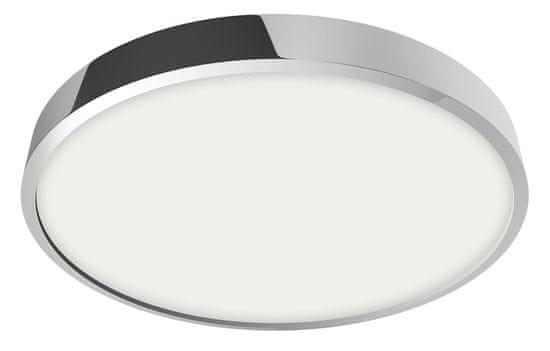 LUXERA LED Mennyezeti és falpanel LENYS 49027, 24 W, kerek, króm