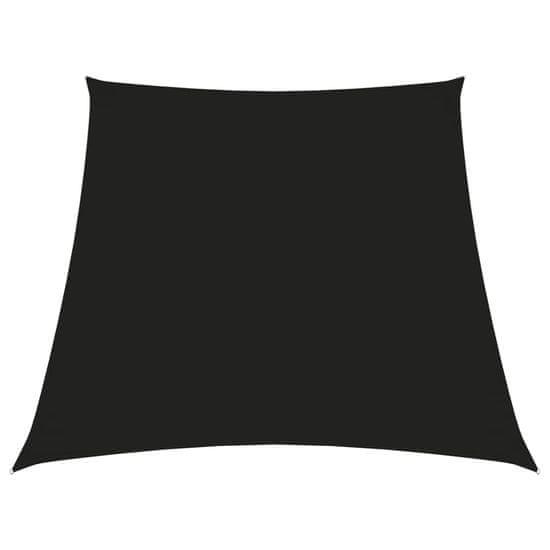 shumee fekete trapéz alakú oxford-szövet napvitorla 4/5 x 3 m