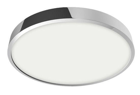 LUXERA LED Mennyezeti és falpanel LENYS 49025, 12 W, kerek, króm