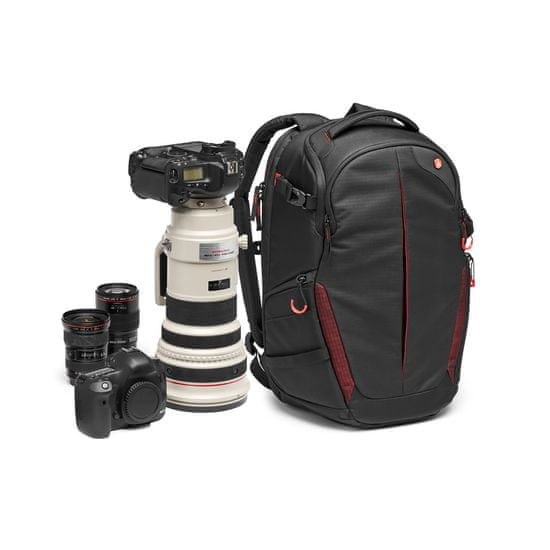 Manfrotto Pro Light fotografski nahrbtnik RedBee-310 za DSLR/camcorder - 22L (MB PL-BP-R-310) + GRATIS - PIXI MINI namizno stojalo (MTPIXI-B)