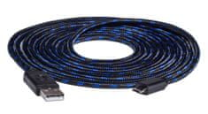 Snakebyte PS4 USB Charge:Cable Pro (4m Meshcable)