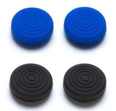 Snakebyte PS4 Control:Caps (2x black 2x blue)