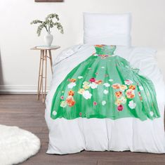 Svilanit otroška bombažna posteljnina, 140 x 200 cm + 50 x 70 cm, Tiana