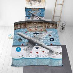 Svilanit otroška bombažna posteljnina, 140 x 200 cm + 50 x 70 cm, Heaven