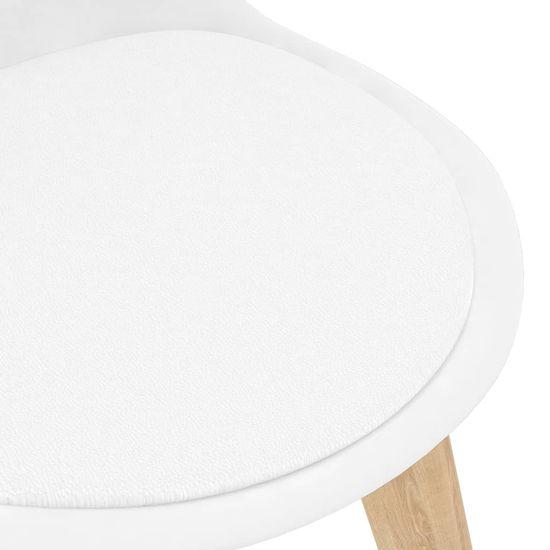 Petromila 7-dielna jedálenská súprava biela