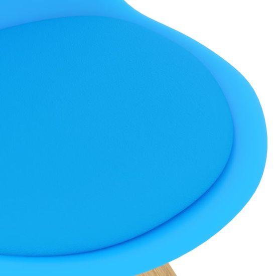shumee 5-dielna jedálenská súprava, modrá