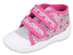 Befado lány magasszárú tornacipő Maxi 212P072, 18, rózsaszín