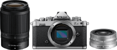 Nikon Z FC zrcalno refleksni fotoaparat + 16-50 mm + 50-250 mm