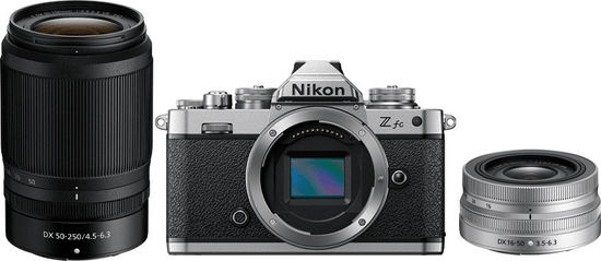 NIKON Z fc + 16-50 + 50-250 mm (VOA090K003)