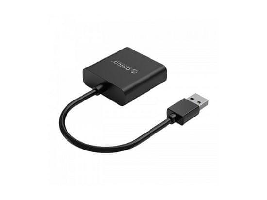 Orico UTV adapter USB 3.0 v VGA, črn