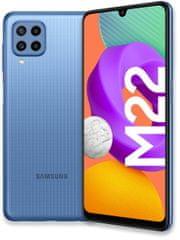 SAMSUNG Galaxy M22, 4GB/128GB, Blue