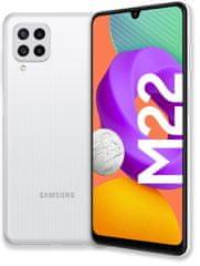 SAMSUNG Galaxy M22, 4GB/128GB, White