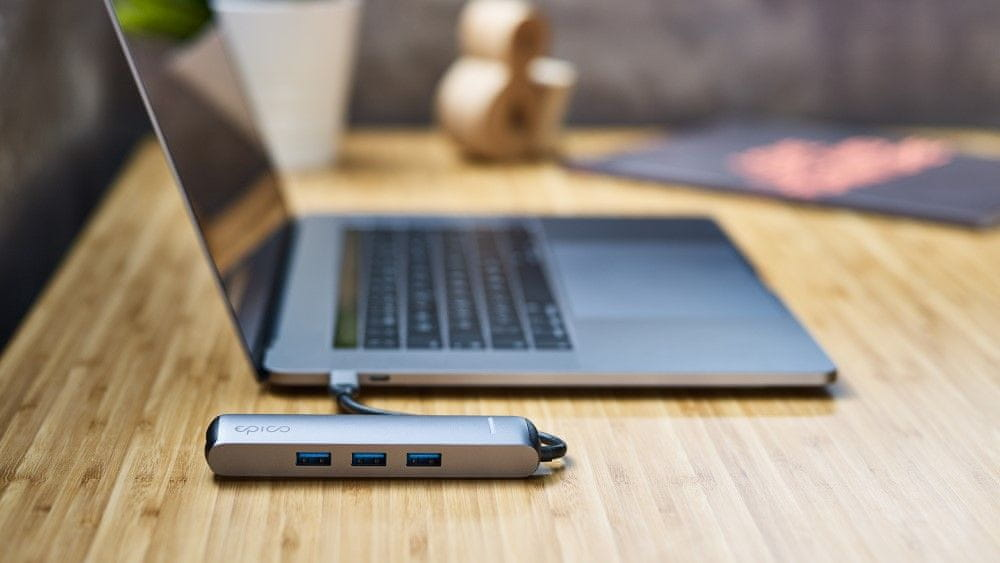 EPICO USB Type-C HUB SLIM (4K HDMI & Ethernet)