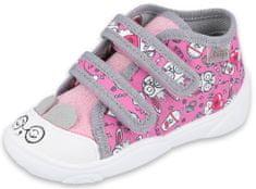 Befado lány magasszárú tornacipő Maxi 212P070, 20, rózsaszín