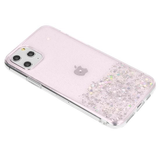 Sparkle maska za Apple iPhone 11 Pro, silikonska, roza, sa šljokicama