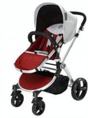 Infantastic Otroški voziček Blush 2v1, rdeč