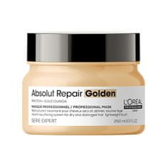 Loreal Professionnel Regenerační maska pro poškozené jemné vlasy Serie Expert Absolut Repair Gold Quinoa + Protein (Golde (Objem 250 ml)