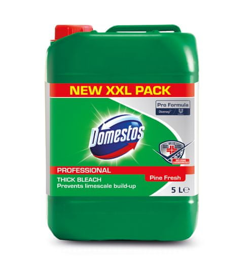 Domestos Professional čistilno in razkuževalno sredstvo, bor, 5 l