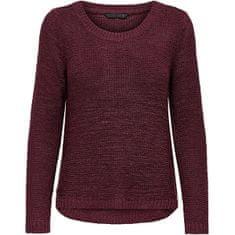 ONLY Ženski pulover ONLGEENA 15113356 Tawny Port (Velikost S)