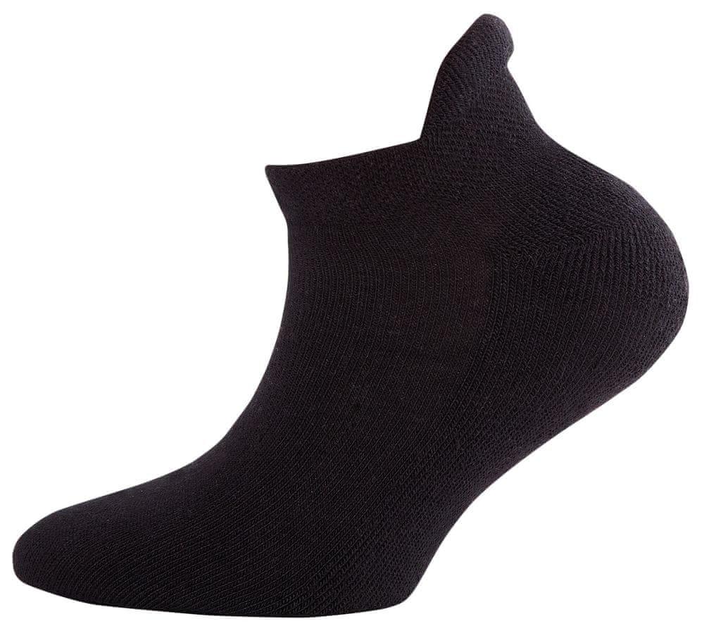 EWERS dětské nízké froté ponožky s technologií Coolmax® 201601_1 27-30 černá
