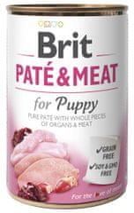 Brit Paté & Meat Puppy 6x400g