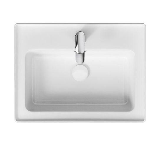 CERSANIT Cersanit - Crea skrinka s umývadlom 60cm, dub, S924-008+K114-006