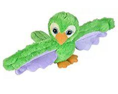 WILD REPUBLIC Plyšáček objímáček Zelený papoušek
