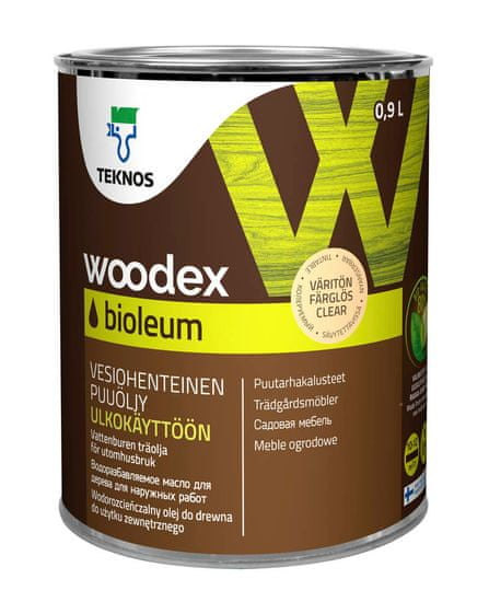 Teknos Woodex Bioleum - olje za les