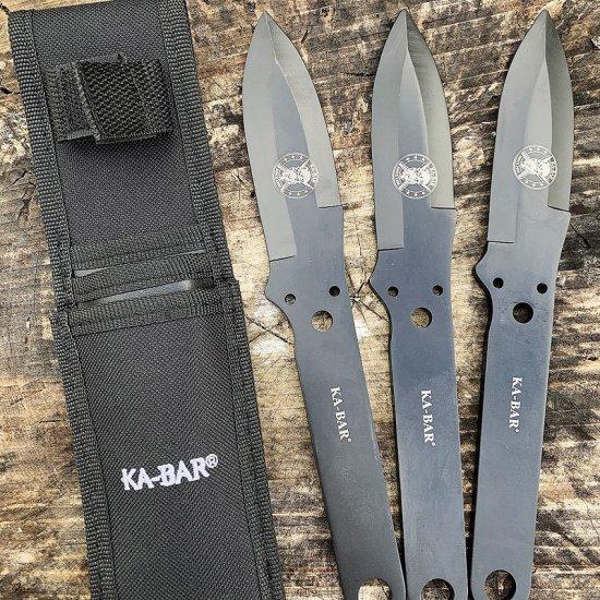 KA-BAR® Throwing Knife, sada 3ks (KA1121)
