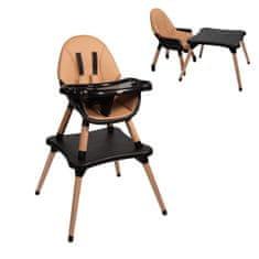 Nania EVA 2 v 1 Grey stolček za hranjenje