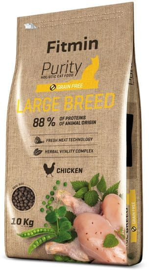 Fitmin cat Purity Large Breed - 10 kg