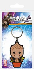 Klíčenka Strážci Galaxie - Baby Groot / gumová