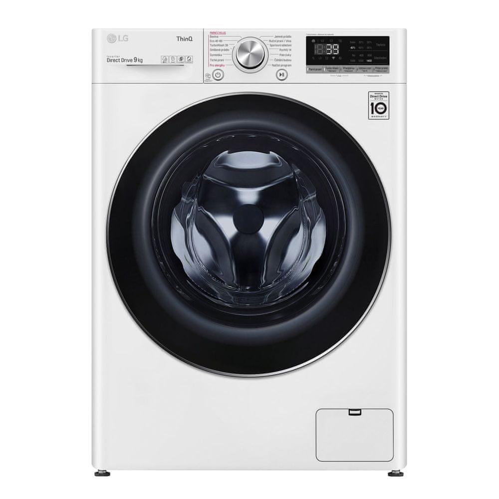 LG automatická pračka F4WV909P2E + 10 let záruka na motor