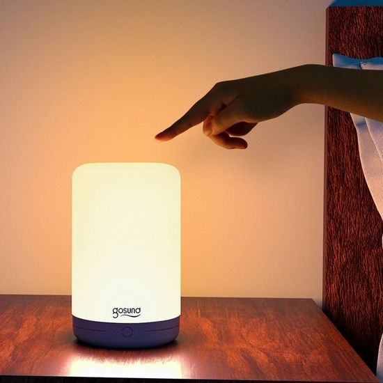 Gosund Smart Bedside Lamp inteligentná nočná lampa, biela