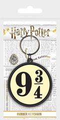 Klíčenka Harry Potter - 9 3/4 / gumová