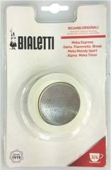 Bialetti Těsnění + filtr MOKA (3-4 šálky, 150-200 ml)