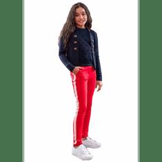 LOOXS Revolution  nohavice červená 176 cm